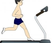 Futás futópadon