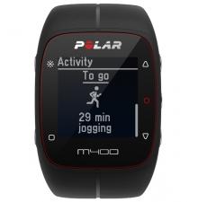 Polar M400 HR Black pulzusmérő óra