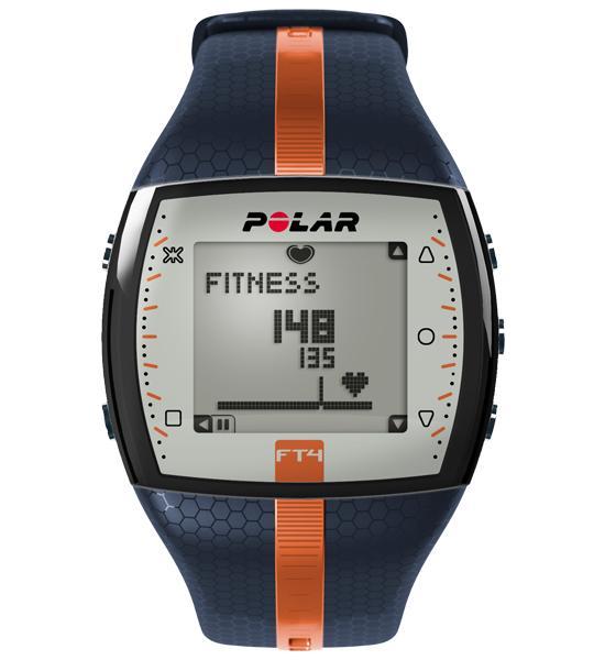3bd17e8008 Polar FT4 Blue-Orange pulzusmérő óra - új színben, gyors szállítással